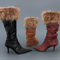 "Coyote ""Faux Fur"" Boot Topper"