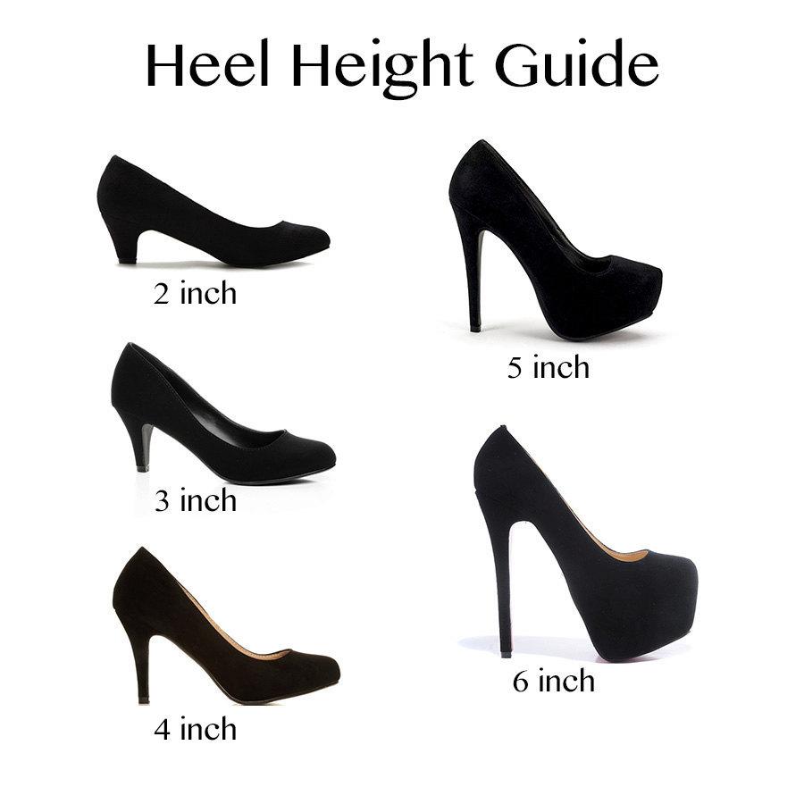 Hot Pink 4 Inch Heels