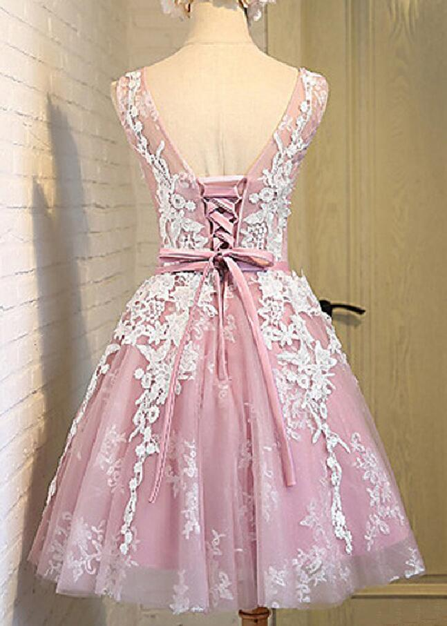 Lace homecoming dress, sexy off shoulder homecoming dresses, cheap ...