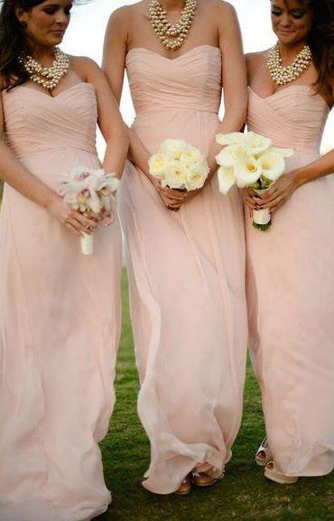 New Bridesmaid Dressparty Dresspink Prom Dressplus Size Dress