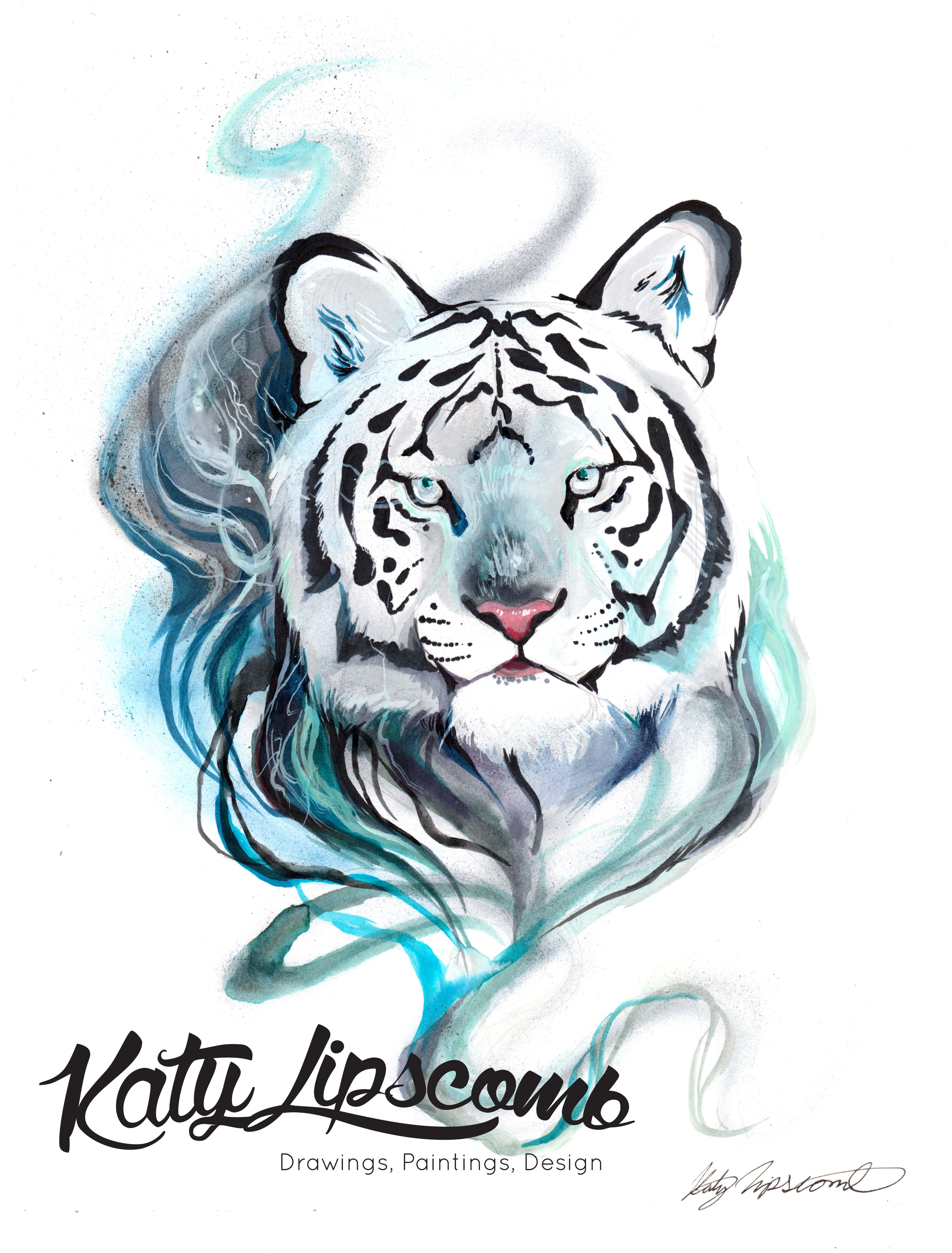 smokey tiger print katy lipscomb online store powered by storenvy