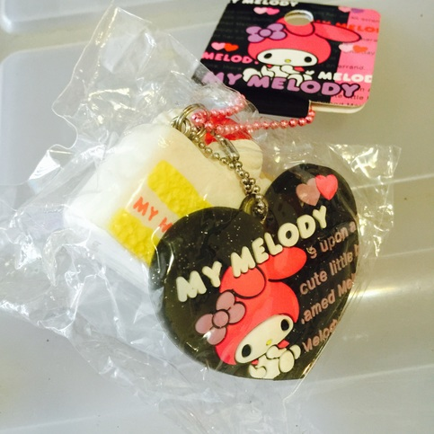 Squishy Cake Slice : RARE Sanrio Licensed My Melody Tagged Cake Slice Squishy!! on Storenvy