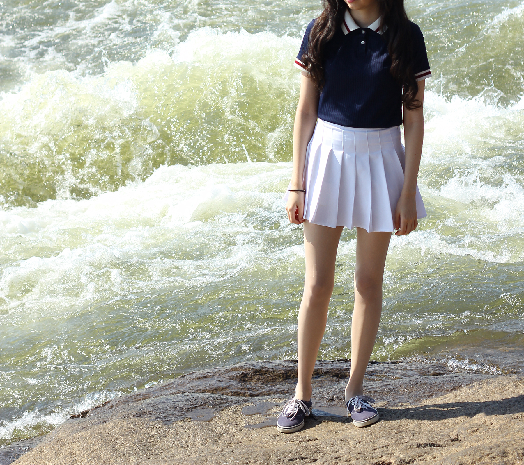 White pleated skirt (XS-XXL) · Pollyanna · Online Store Powered by ...