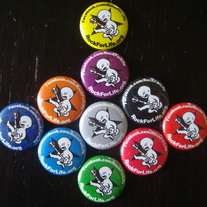RFL Baby Button (Multiple Colors)