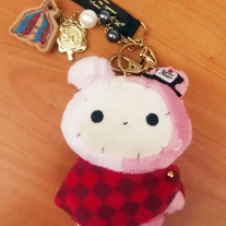 Sentimental Circus Red Scarf Hp Charm [MP-16901]