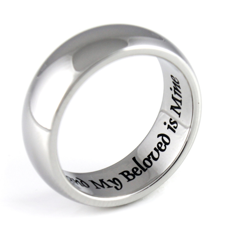 tzaro jewelry purity ring i am my beloved best friends