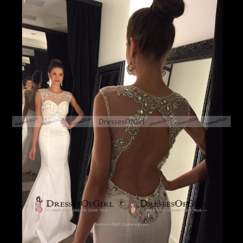 Elegant White Prom Dresses