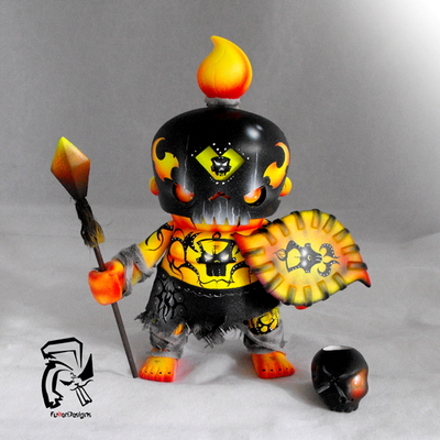 Fire warrior ghost tribe x