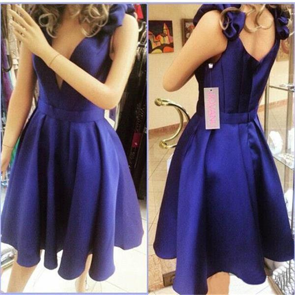 Royal blue prom dresses, young girl prom dresses, cheap prom dresses ...