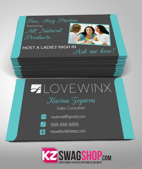 Lovewinx Business Card - 2 · KZ Creative Services · Online ...