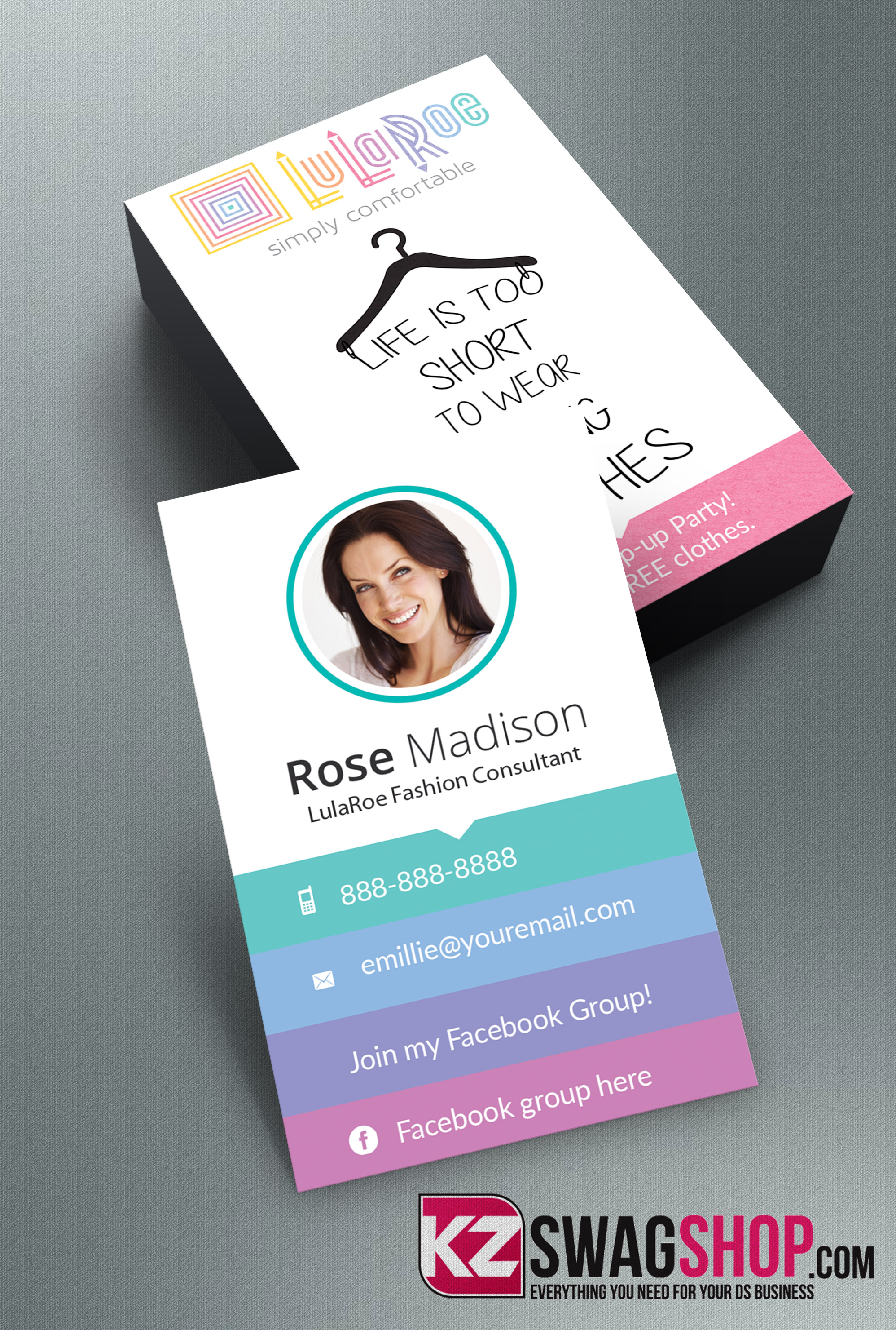 LulaRoe Business Cards - 2 · KZ Creative Services · Online Store ...