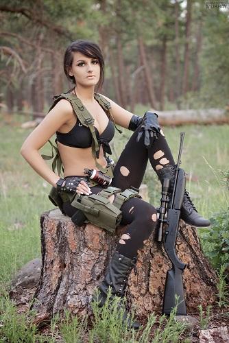 v cosplay Metal gear solid