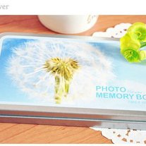 Photo Memory Box - Flowers