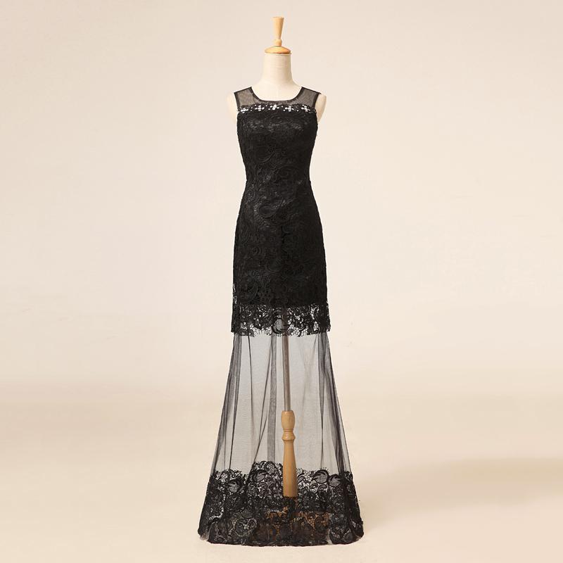 Sheath Formal Lace Dresses
