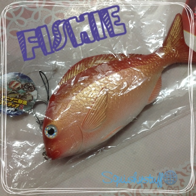 Rare Fish Squishy : Rare Licensed Fish Squishy---Red on Storenvy