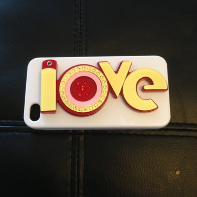 Love mirror case for iphone 4