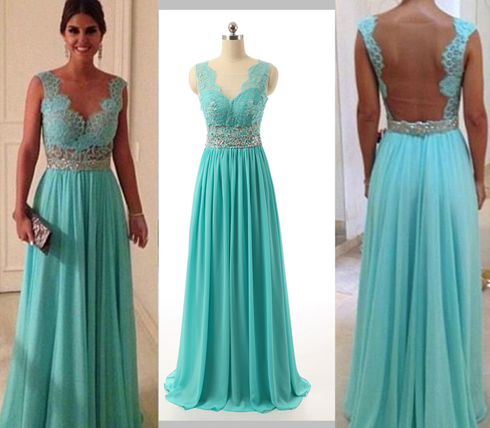 Beading Long Prom Dress Wedding Party Dresses · Promtailor · Online ...