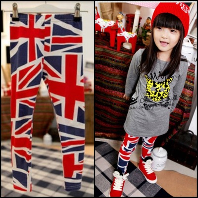 British flag leggings