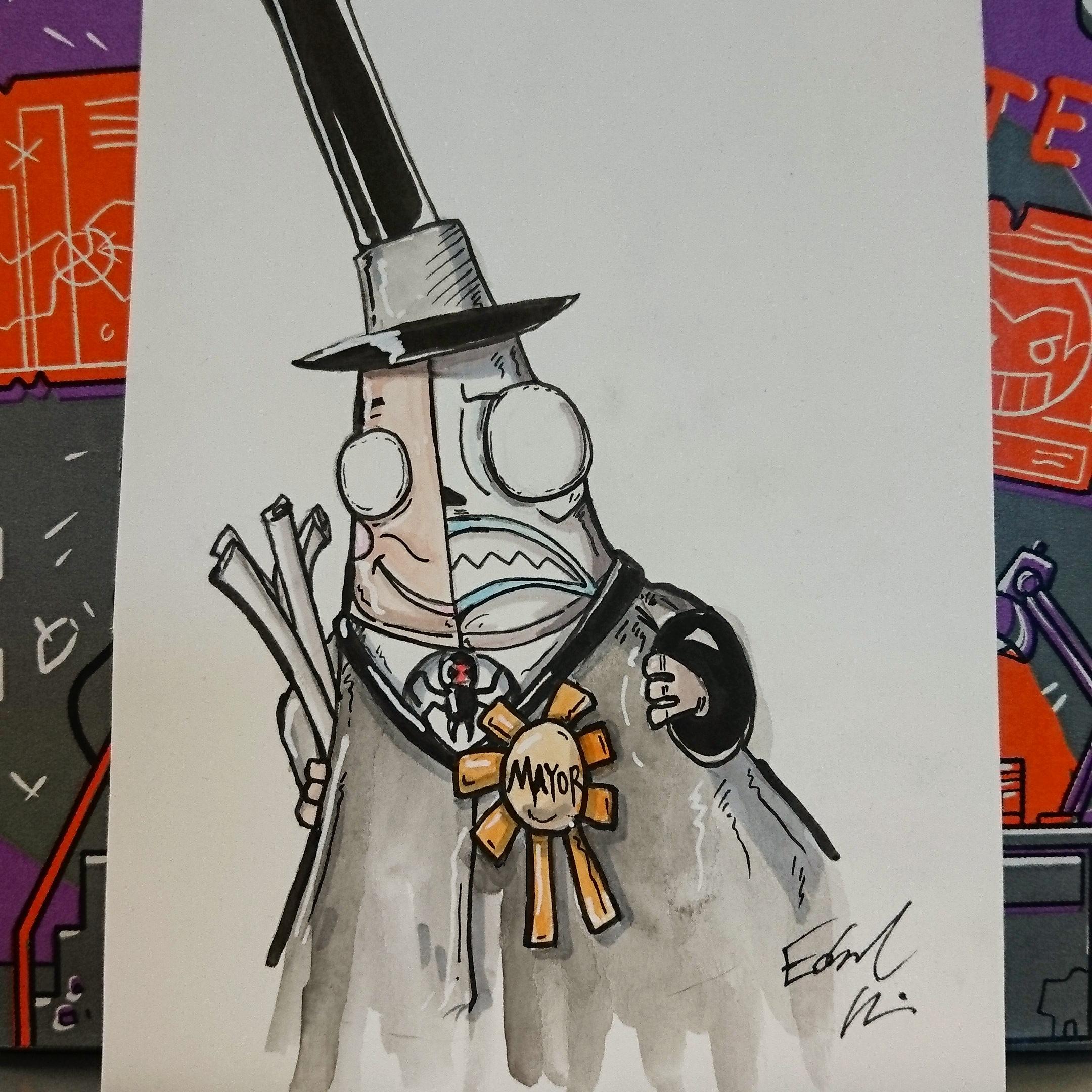 8b4aea2e72e Mayor (Nightmare Before Christmas) · Taco Boy Designs · Online Store ...