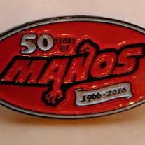 Manos the Hands of Fate 50th anniversary pin medium photo