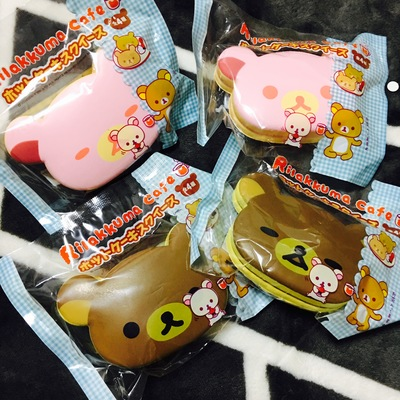 Squishy Muffinz Merch : ~SquishyStuff~ San-X Rilakkuma Pancake Squishy Mascot Online Store Powered by Storenvy