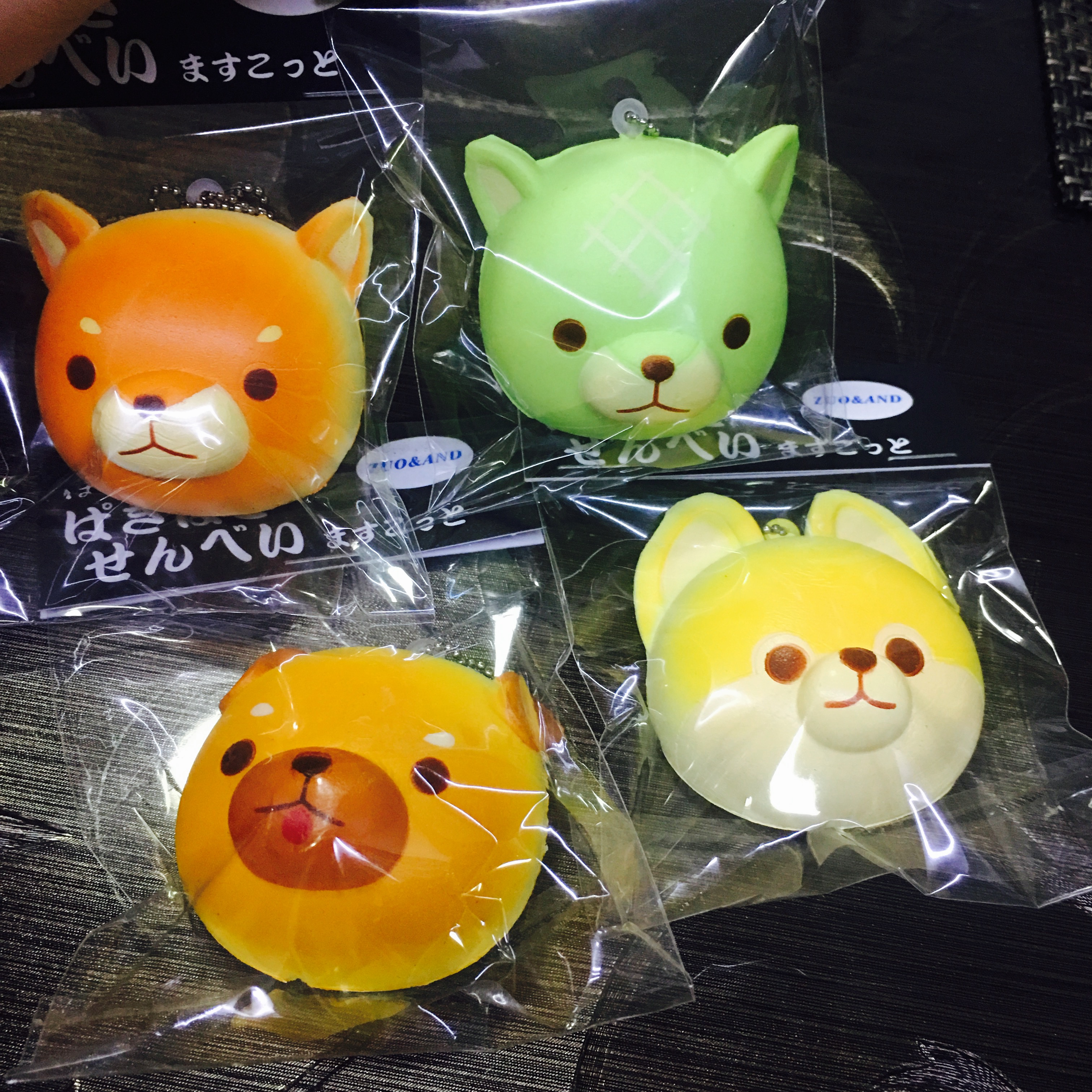 Squishy Head Bun : ~SquishyStuff~ CUTE!!! Puppy Head Bun Squishy Ball Chain Online Store Powered by Storenvy