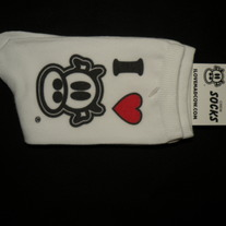 I LOVE MAD COW! CREW SOCKS