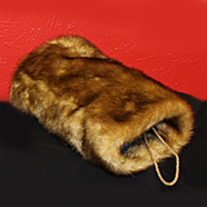 Light Mink Faux Fur Hand Warmer