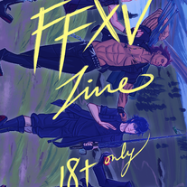 FFXV 18+ zine medium photo
