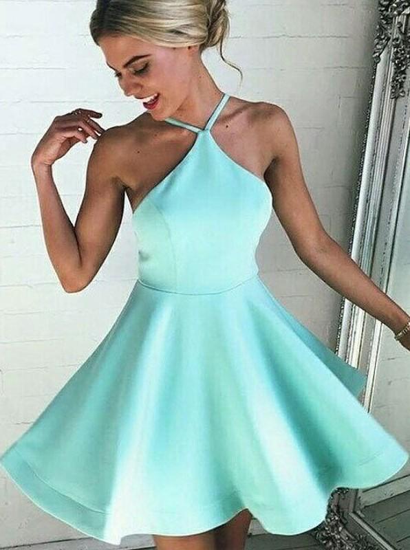 Short Prom Dress Mint Green Prom Homecoming Dress Junior Prom