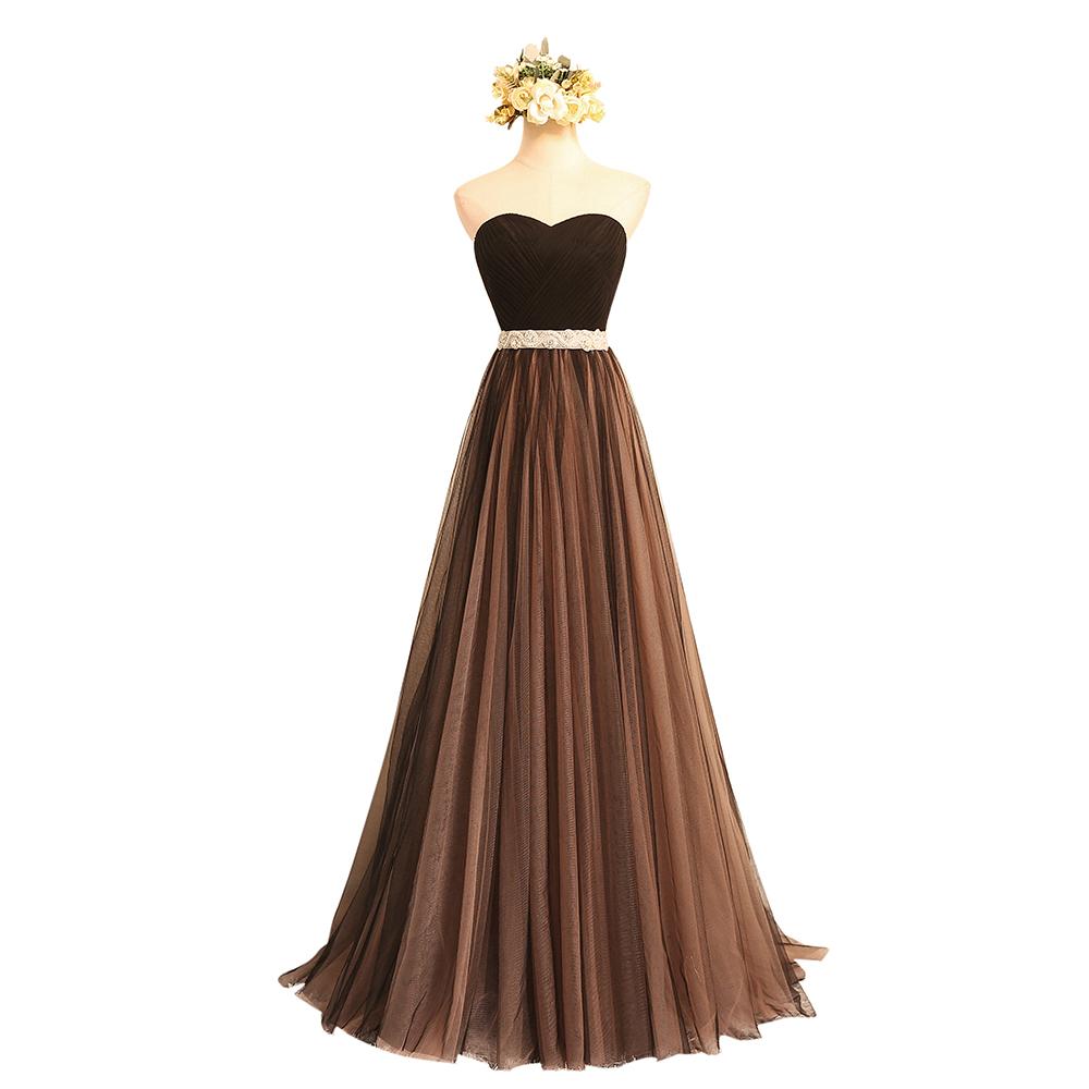 Chocolate Formal Dresses