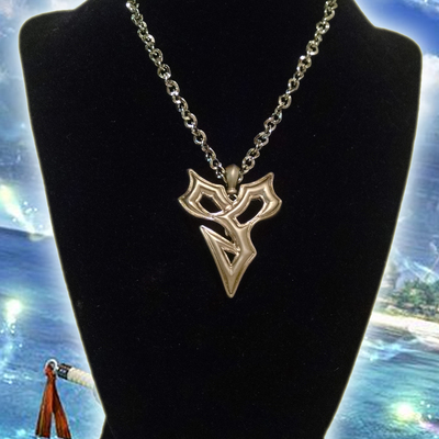 Final Fantasy X Tidus Necklace Fiery Soul Creations Online Store
