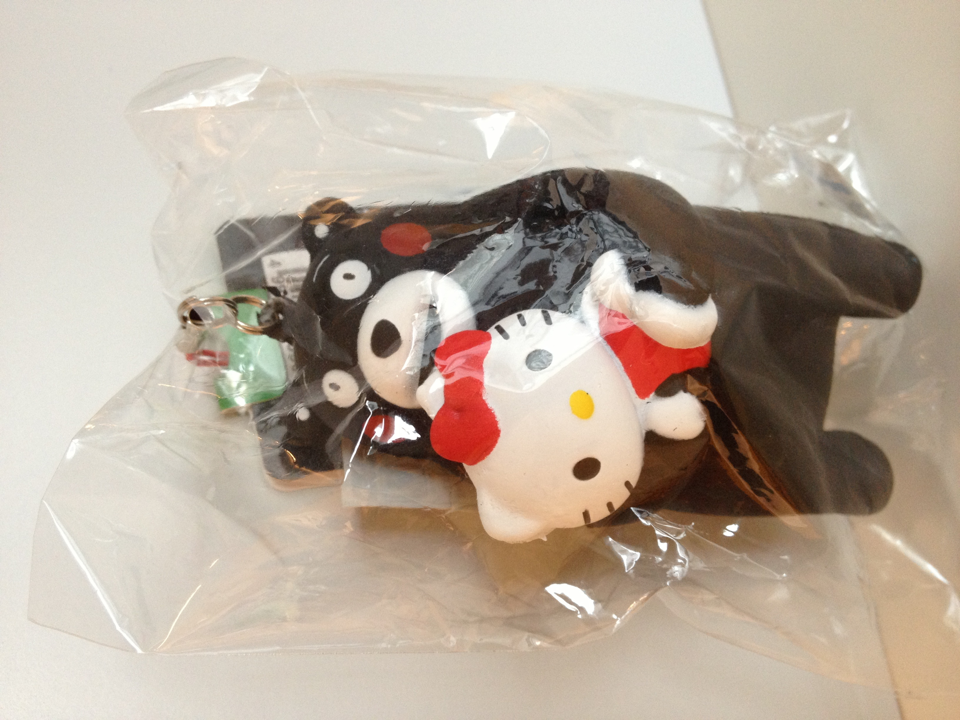 Squishy Collection Hello Kitty : Kumamon And Hello Kitty squishy ? Minmi s Selection ? Online Store Powered by Storenvy