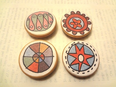 Art Magnets - The Designs (Set of 4)