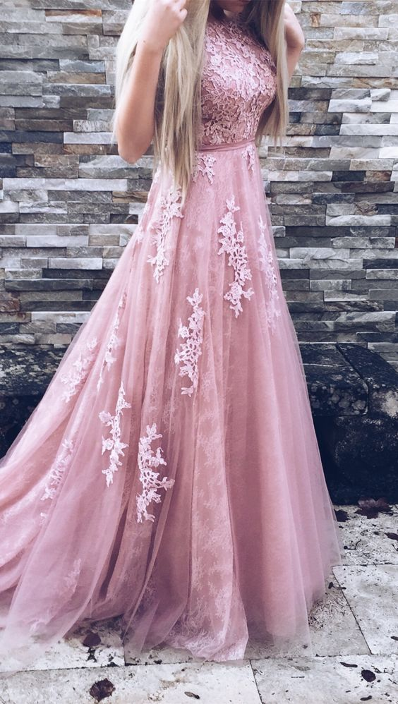 Pink Prom Dresses,Ball Gown Prom Dress,Prom Gown,Pink Prom Gown ...