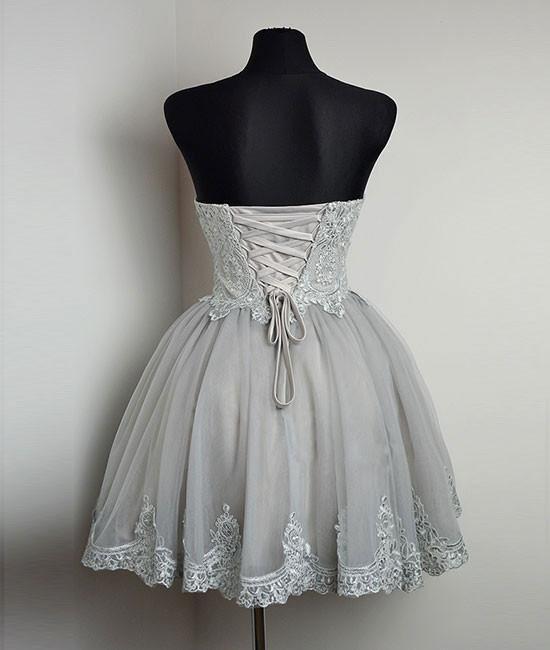 Gray Sweet 16 Dresses