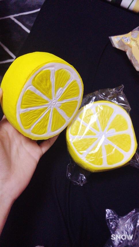 Squishy Lemon : JUMBO SLOW-RISING!! Jumbo Yellow Lemon Squishy!! on Storenvy