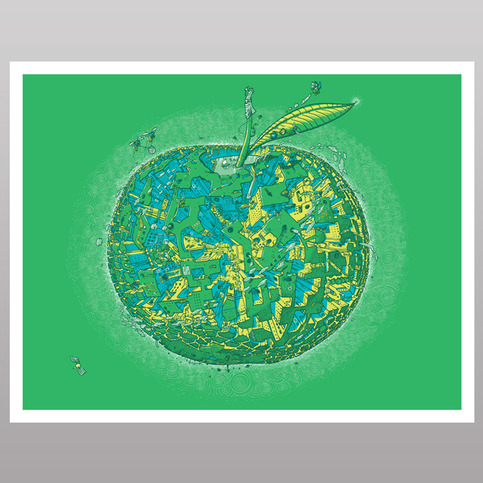 The BIG Apple (print)