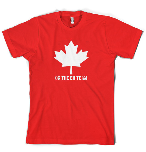 Crazy Dog T-shirts | Canadian Eh Team T Shirt funny shirt | Online ...