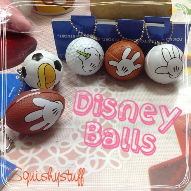 Squishy Football : ~SquishyStuff~ Tokyo Disney Licensed Mickey Sports Balls Squishy Online Store Powered by ...