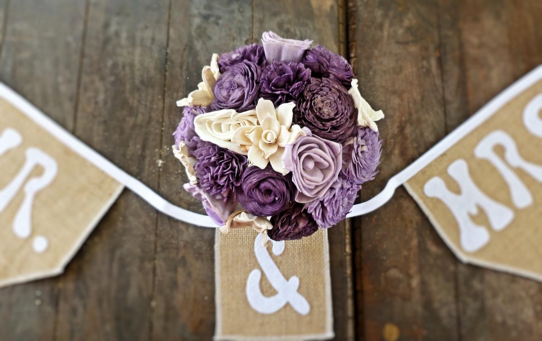 Diy Purple Wedding Centerpieces Wedding centerpiece flowers
