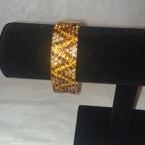 Gold Jeweled Bracelet