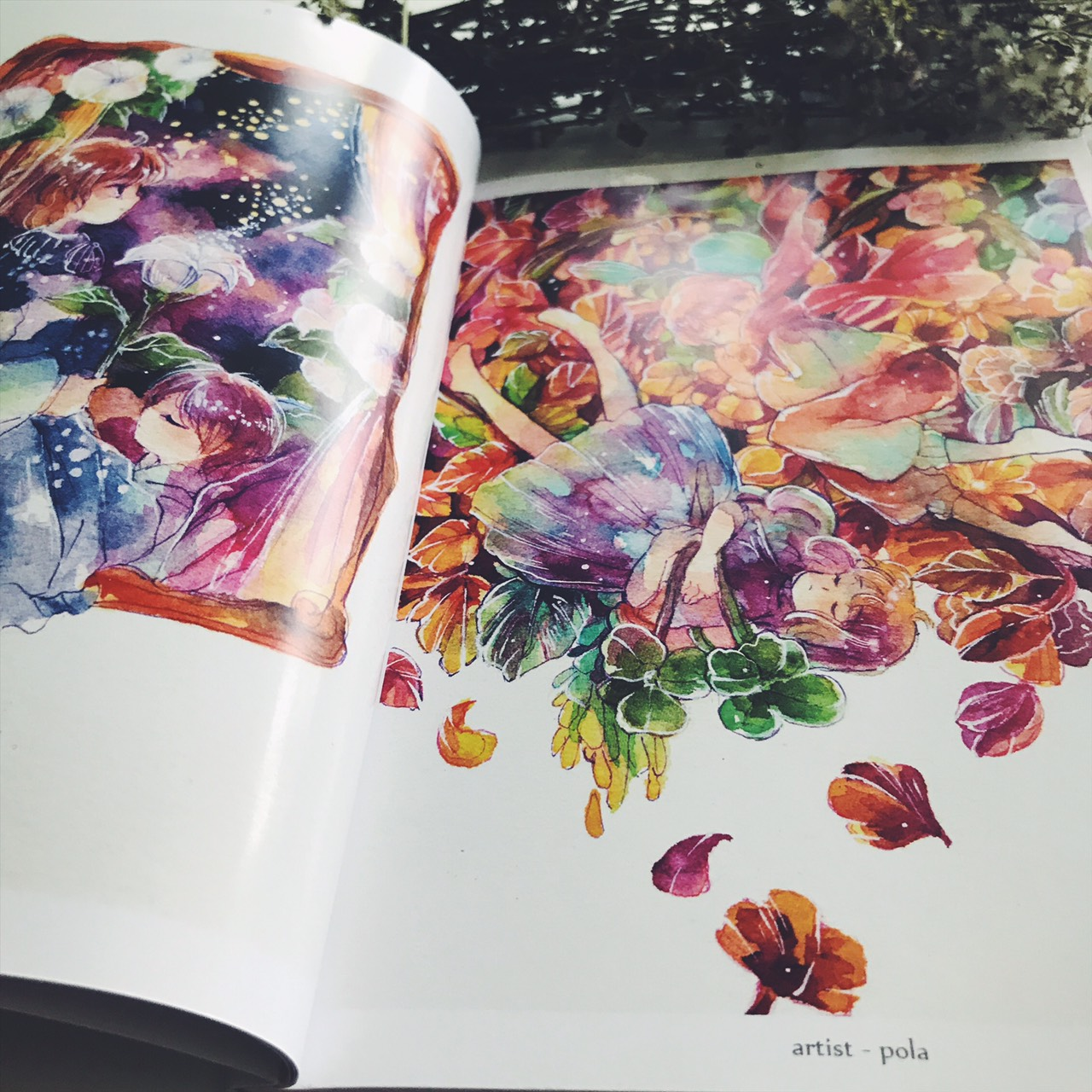 fragrance watercolor illustration book monomania online store