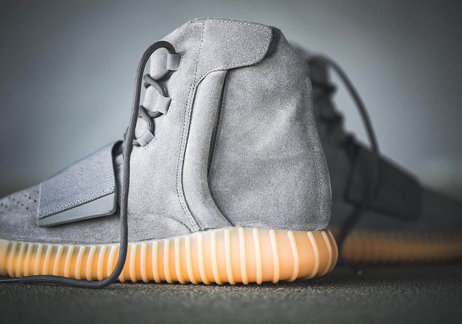 ... ADIDAS YEEZY 750 BOOST Color  Light Grey Light Grey Gum Style Code  ... eeb6150d9