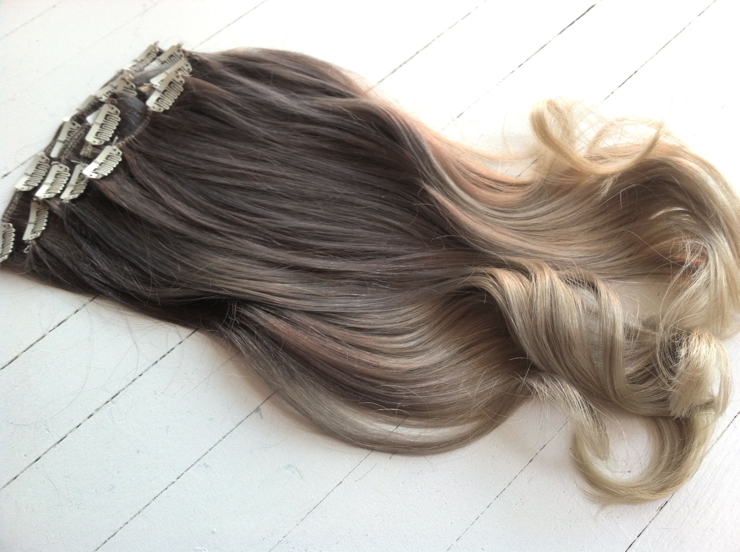 Ash Blonde Extensions Best Clip In Hair Extensions