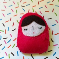 Mini Matryoshka Plushie