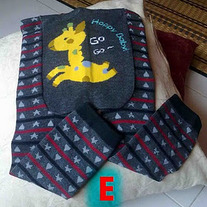 Giraffe Go Go legging pants for boys and girls 3 mos to 4T