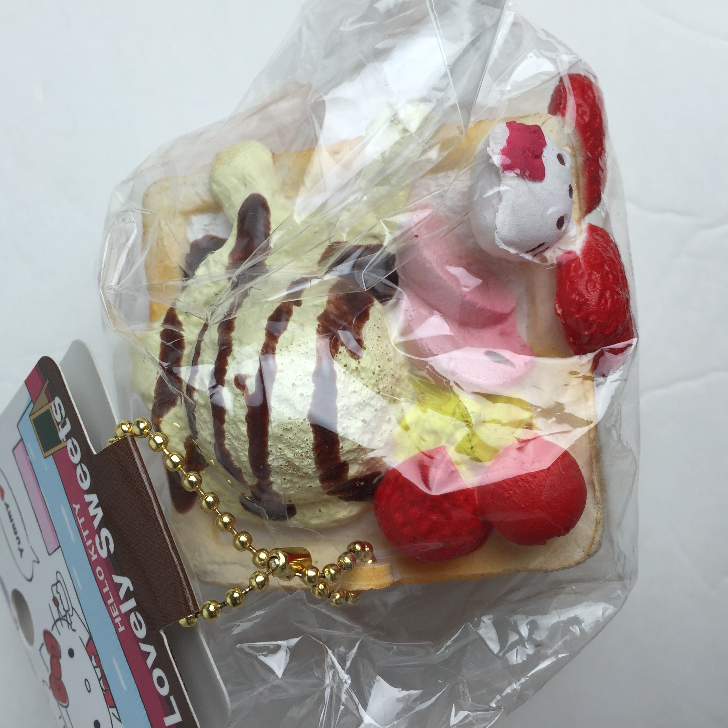 Hello Kitty Ice Cream Loaf Squishy (DISCONTINUED) ? Richard s Squishies ? Online Store Powered ...