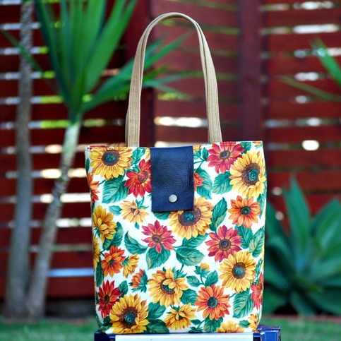 Sunflower Tote Collection - Style #1