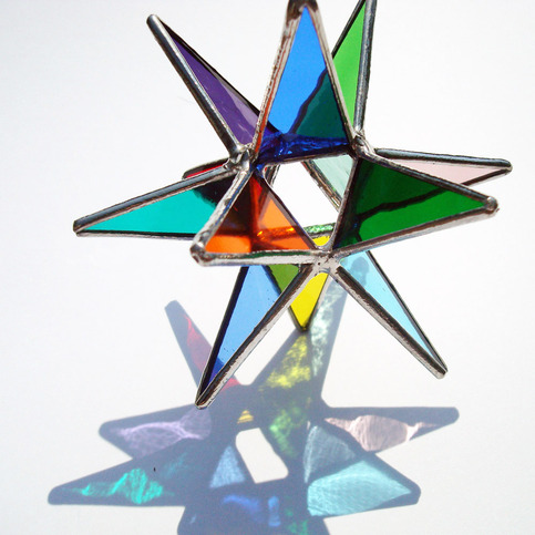 26 Point Moravian Star - Delphi Stained Glass